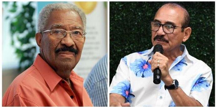 Rafael Ithier y Charlie Aponte se verán enfrentados en el Tribunal federal.  (Archivo)