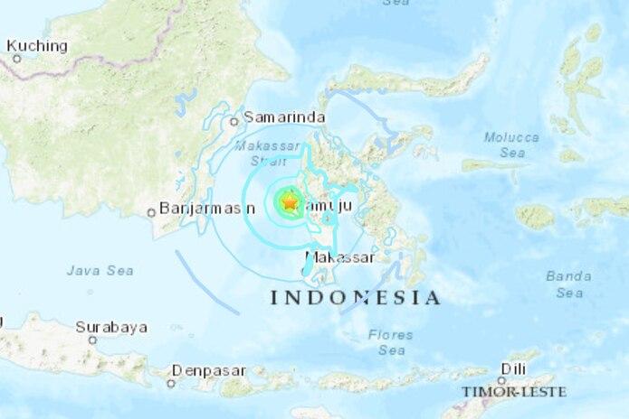 Terremoto en Indonesia 15 de enero de 2021