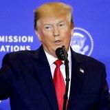 Trump afirma que no es problema de EE.UU. si Turquía entra en Siria