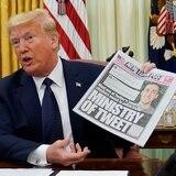 Trump intensifica su guerra contra Twitter y redes sociales por desmentir sus opiniones