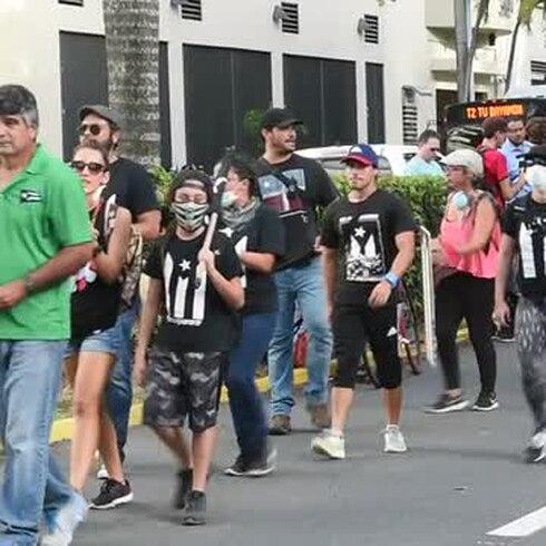Marchan contra el depósito de cenizas