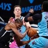 Los Nets le ganan al Heat con Durant e Irving