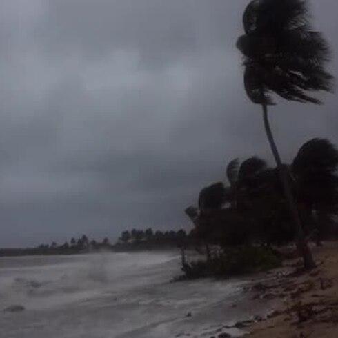 Se intensifican los vientos de Karen en Vieques