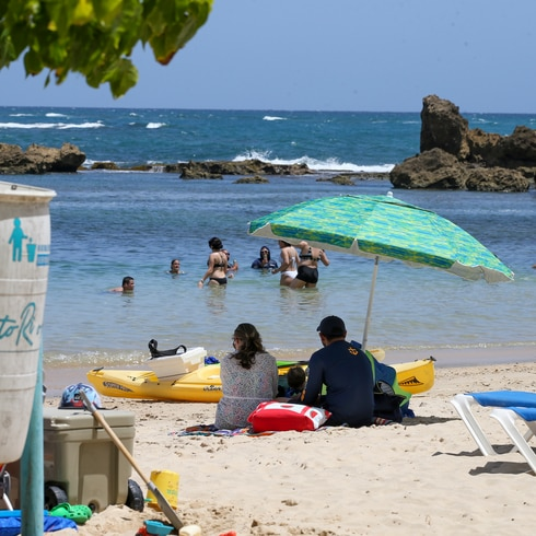 De playa el 4 de julio