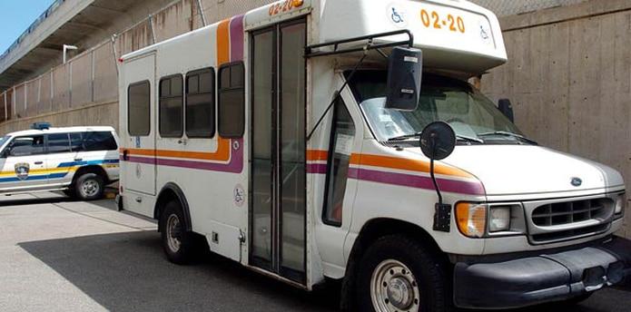 El programa Llame y Viaje es el servicio de transportación accesible para personas con impedimentos físicos o mentales. (Archivo)