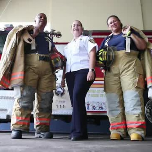 Estas bomberas logran romper los esquemas
