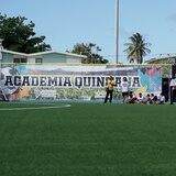 La Academia Quintana disfruta de un renovado campo de fútbol