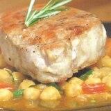 Guíllate de chef: chuletas en salsa de patitas