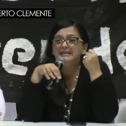 Momentos claves de la conferencia de prensa sobre la llegada de Oscar López