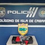 Ocupan cocaína detrás del polígono de tiro de la Policía