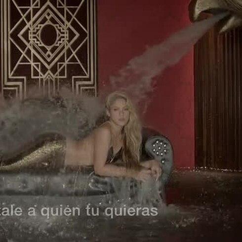 """Lyric video"" del nuevo tema de Shakira y Maluma"