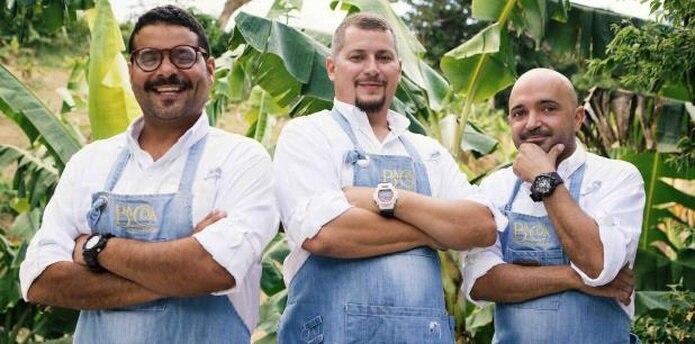 Xavier Pacheco, René Marichal y Raúl Correa son los gestores de Bacoa.  (Suministrada)