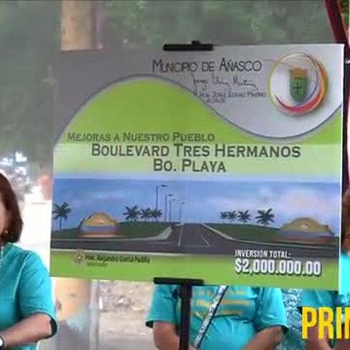 Gobernador anuncia obras de rehabilitación para Añasco
