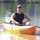 """Nos fuimos a """"kayakear"""" con Juan Dalmau"""