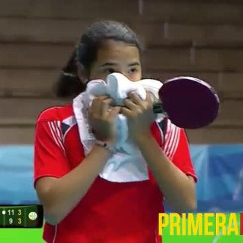 Emocionante momento en que Adriana Díaz logra el pase a Río 2016