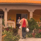 San Lorenzo reparte 60,000 libras de alimentos