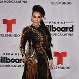 Mucho brilloteo en la alfombra roja de los Premios Billboard a la Música Latina