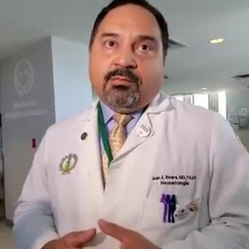 Doctor Rivera explica remodelación de NICU en el Pediátrico