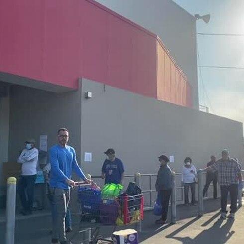 Se tiran al supermercado en Gurabo durante la cuarentena