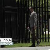 Raphy Pina se entregó hoy en el edificio del FBI