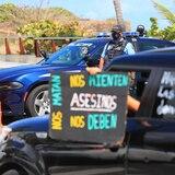 Caravana para denunciar atropello de los terapistas de educación especial