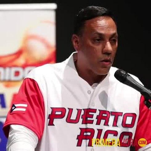 Igor Gonzalez será el dirigente de la selección de béisbol para los Centroamericanos