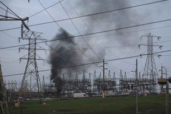 Incendio en la subestación de Monacillos.