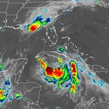 Marco se degrada a tormenta tropical rumbo a Luisiana