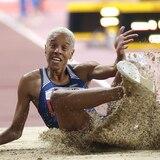 La venezolana Yulimar Rojas bate plusmarca bajo techo en salto triple