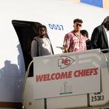 Llegan los Chiefs a Miami para la semana del Super Bowl