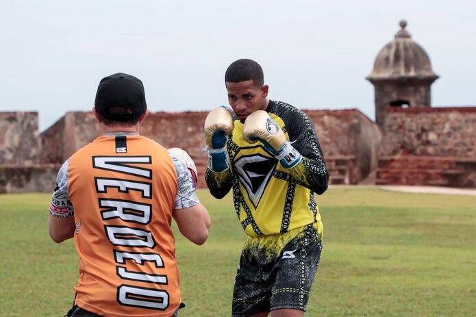 Félix Verdejo dijo que ha sentido una mejor estámina luego de su preparación física en Puerto Rico con Cruz Pensa.