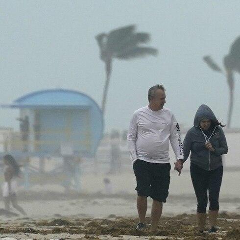 La tormenta Eta azota Florida