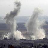Intensos bombardeos por ciudad fronteriza en Siria