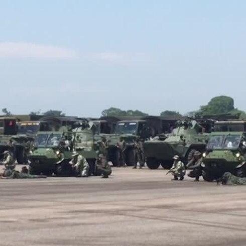 Maduro activará ejercicios militares en Venezuela