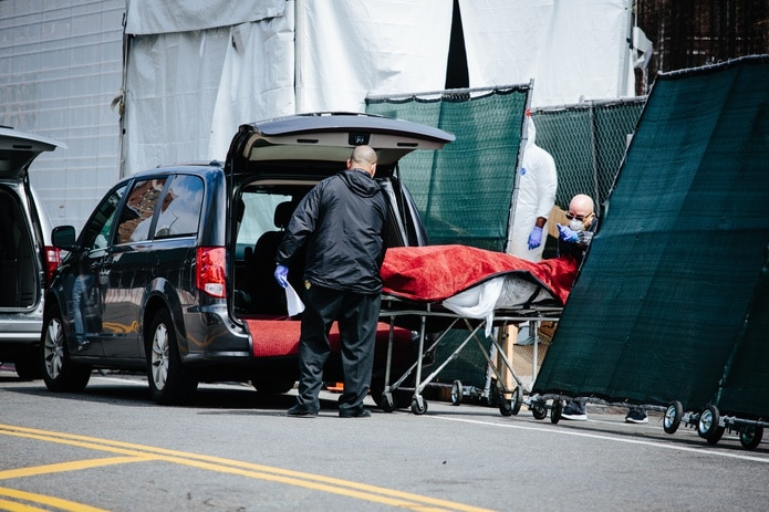 El número de muertos en Nueva Jersey por el coronavirus ha aumentado a 6,442 personas.