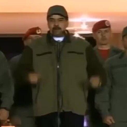 Nicolás Maduro instiga a los soldados a pelear contra Juan Guaidó