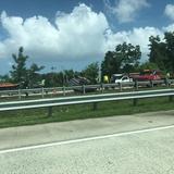 Tapón en el expreso PR-52 por accidente de tránsito cerca de Montehiedra
