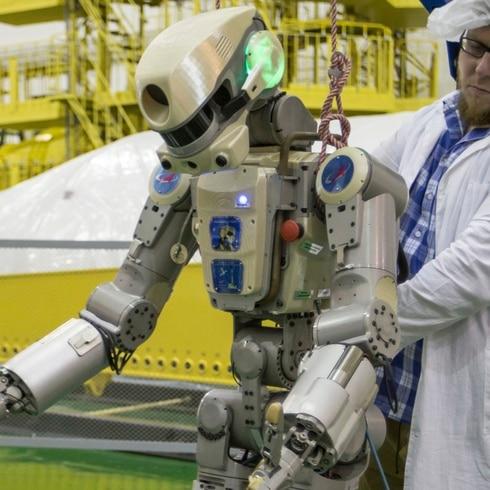 Conoce a Fedor, el primer robot humanoide ruso que va al espacio
