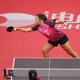 """Adriana Díaz batalla con la 'crema' del tenis de mesa:  """"Estoy con las grandes"""""""