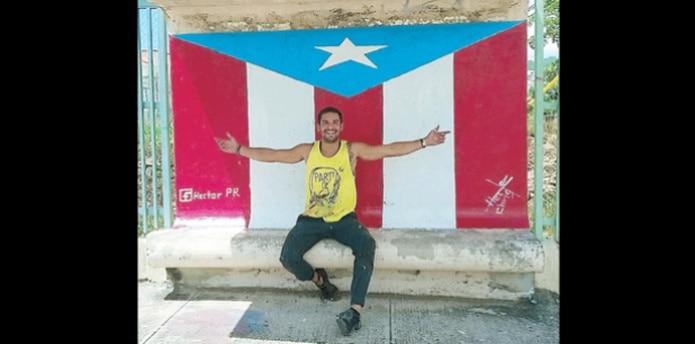 El ícono patrio te lleva a turistear a lugares de la Isla poco frecuentados. (SUMINISTRADAS / FACEBOOK @hectorpr16)