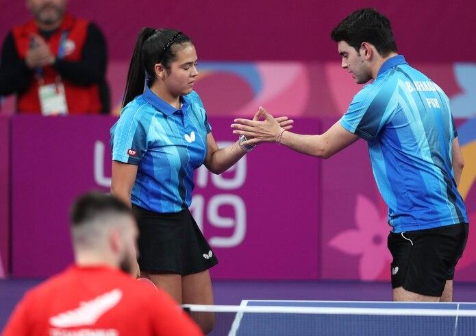 Adriana Díaz y Brian Afanador serán propuestos como la pareja de abanderados por la Federación Puertorriqueña de Tenis de Mesa.