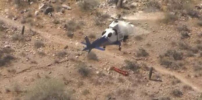 El increíble incidente ocurrió en Arizona. (Faceboook / FOX 10 Phoenix)