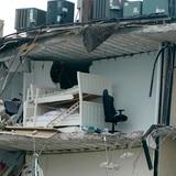 Imágenes del edificio que se derrumbó en Miami