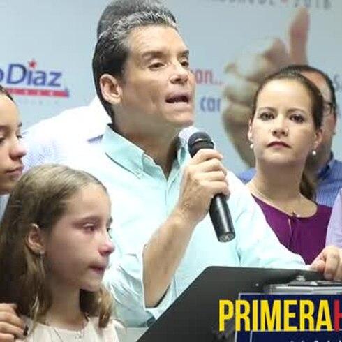 Leo Diaz acepta su derrota