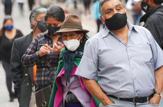 Ecuador suma 214,148 contagiados y 14,165 fallecidos a causa de esta pandemia, que empezó a finales de febrero.