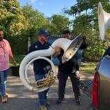 Rescatan instrumentos de la Banda Escolar de Guayanilla