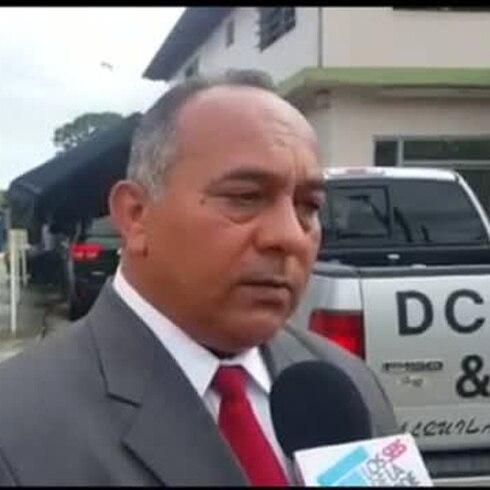 Video muestra carro en el que fiscal fue asesinada