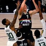 Denver derrota al Jazz de Utah y evita la eliminación