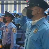 Contra terremotos y pandemia, Policía gradúa a 133 agentes