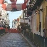 Bajo fuertes medidas de seguridad en La Fortaleza por la llegada de la primera manifestación contra Pierluisi